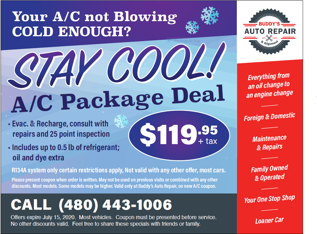 Air Conditioning Deal
